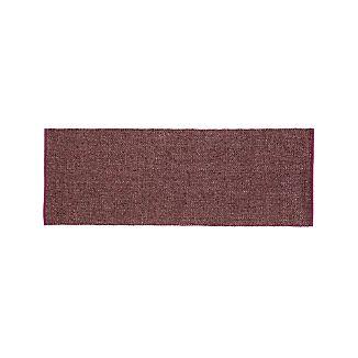 Jasper Plum Wool-Blend 2.5'x7' Rug Runner