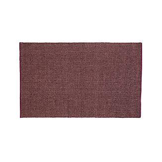 Jasper Plum Wool-Blend 8'x10' Rug
