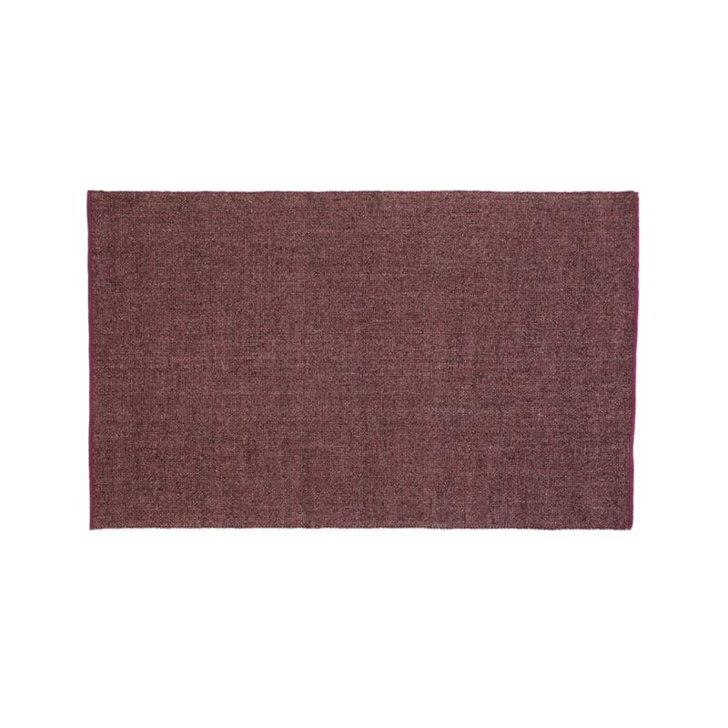 Jasper Plum Wool-Blend 6'x9' Rug