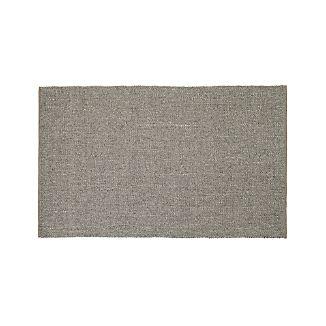 Jasper Taupe Wool-Blend 5'x8' Rug