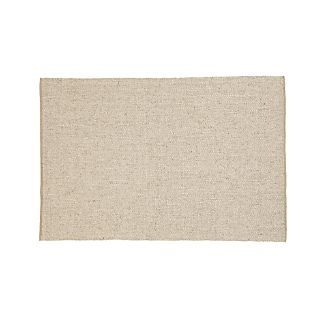 Jasper Wheat Wool-Blend 8'x10' Rug