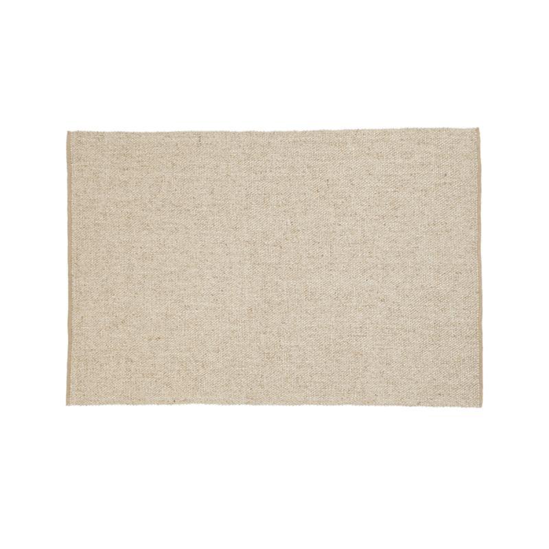 Jasper Wheat Wool-Blend 5'x8' Rug