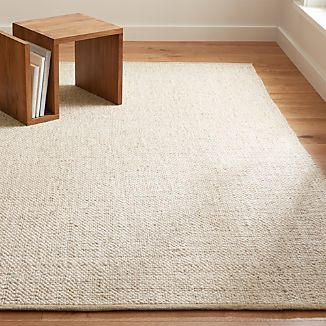 Jasper Wheat Wool-Blend Rug