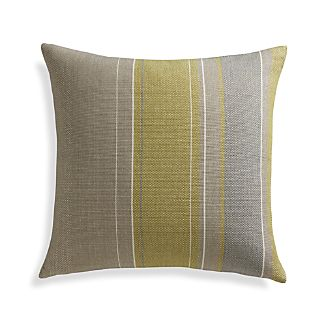 "Jensen 23"" Pillow with Feather-Down Insert"