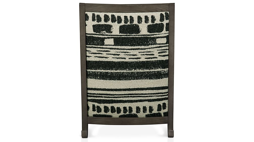 Jeremiah Fabric Back Rocking Chair