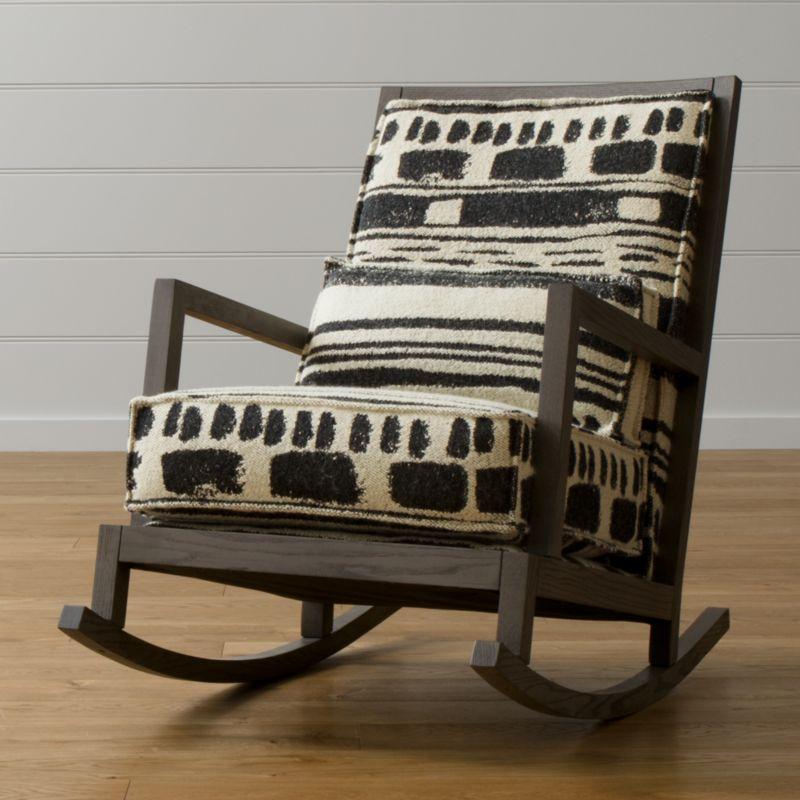 Sears Canada Wedding Gift Registry: Jeremiah Fabric Rocking Chair