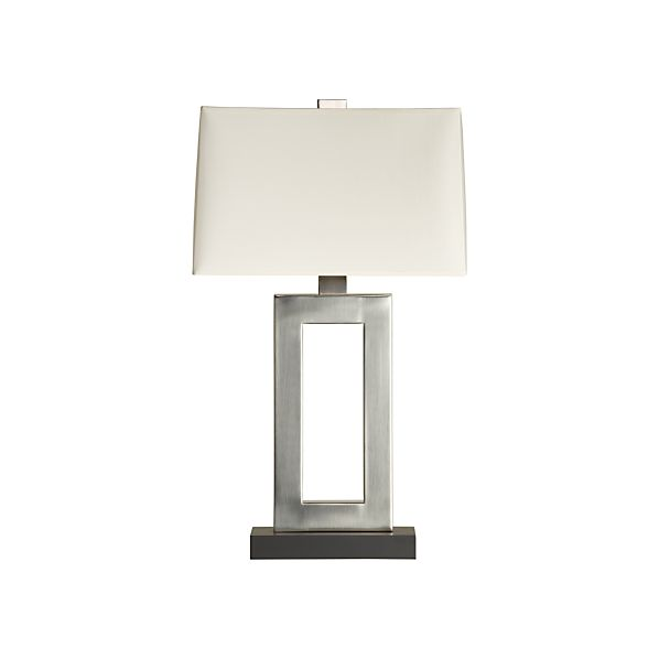 Jerry Antiqued Silver Table Lamp