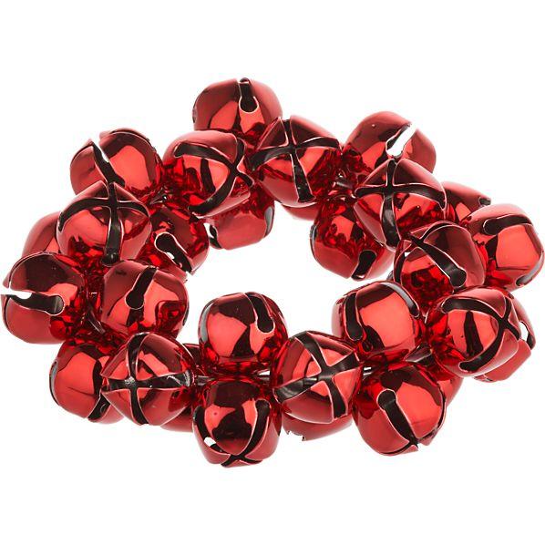 Jingle Red Napkin Ring