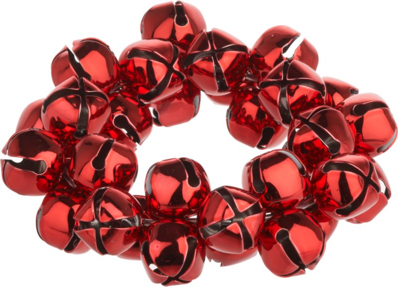 Tangle of tiny red bells rings out holiday cheer as the perfect seasonal table accessory.<br /><br /><NEWTAG/><ul><li>Red metal bells</li><li>Clean with damp cloth</li></ul>