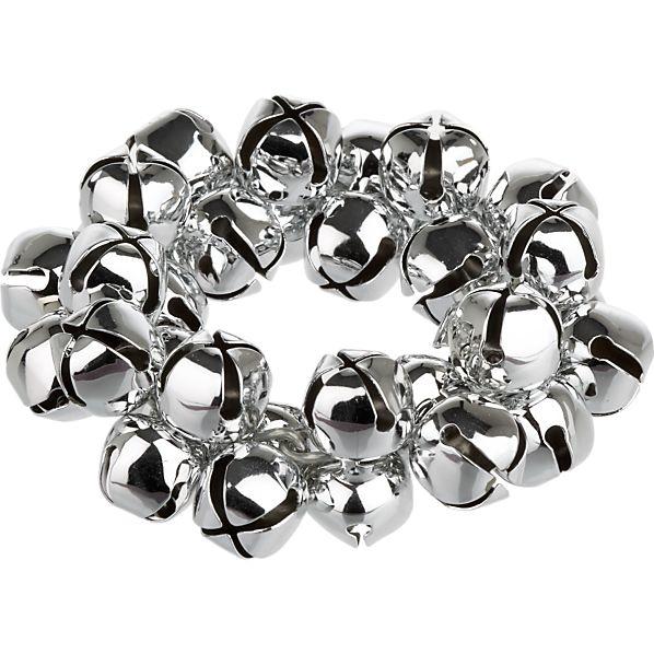Jingle Silver Napkin Ring