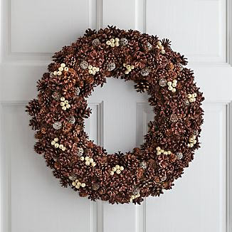 Jingleberry Large Pinecone Wreath