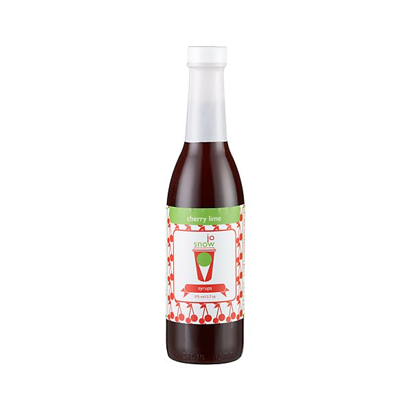 JoSnow Cherry Lime Snow Cone Syrup