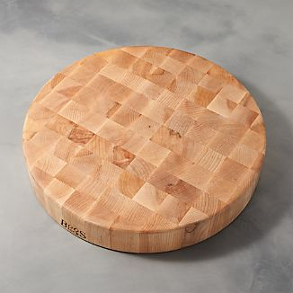 "John Boos 18""x3"" End Grain Maple Cutting Board"