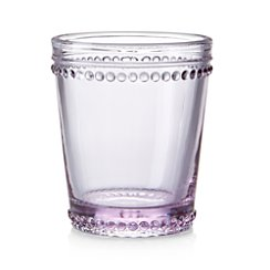 Josie Lilac Double-Old Fashioned Glass
