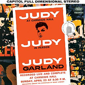 "Judy Garland ""Judy at Carnegie Hall"""