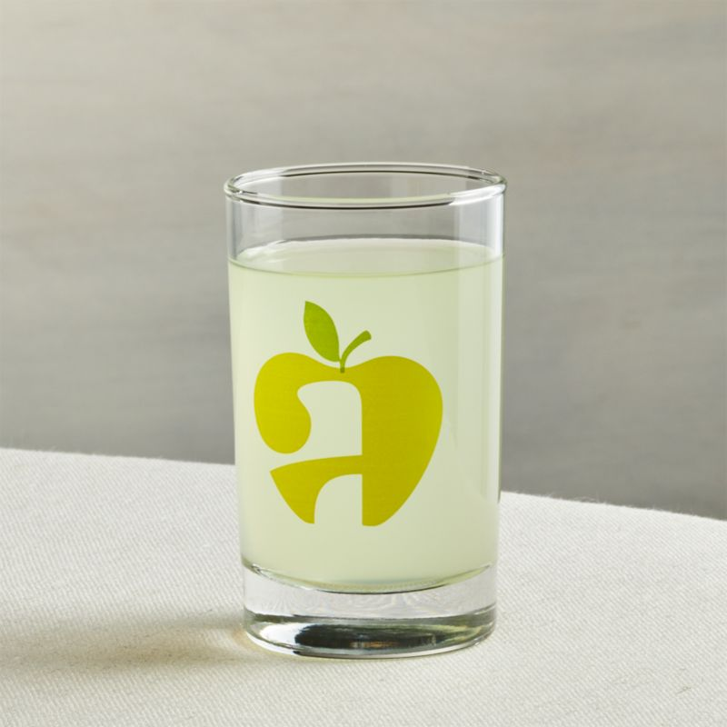 Squeeze Apple Juice Glass