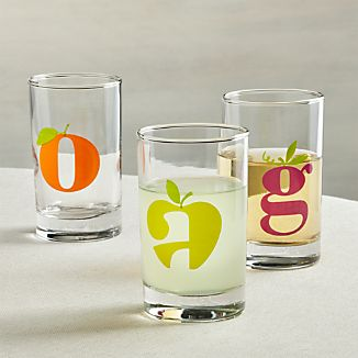 Squeeze Juice Glasses