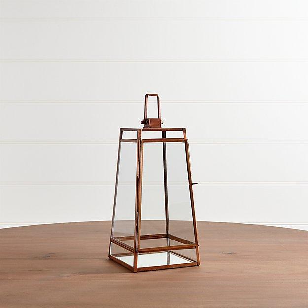 Juley Copper Lantern