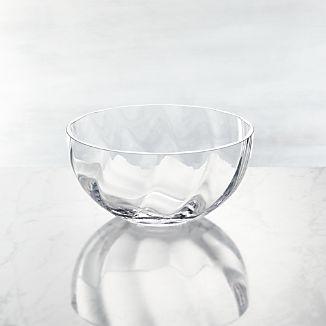 Julia Small Glass Serving Bowl