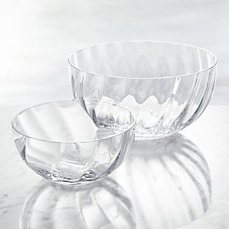 Julia Glass Serving Bowls