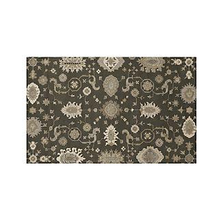Juno Grey Wool 5'x8' Rug