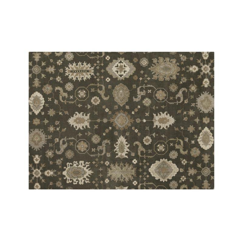 Juno Grey Wool 9'x12' Rug