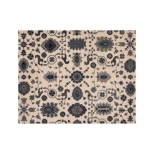 Juno Blue Wool 8'x10' Rug