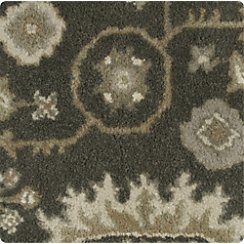 "Juno Grey Wool 12"" sq. Rug Swatch"