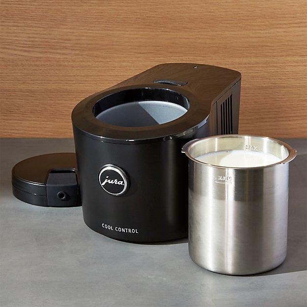 jura cool control milk container crate and barrel. Black Bedroom Furniture Sets. Home Design Ideas