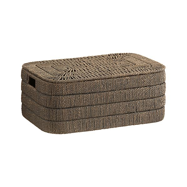 Kabud Large Lidded Basket