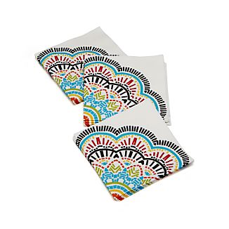Kaleidoscope Paper Beverage Napkins Set of 20
