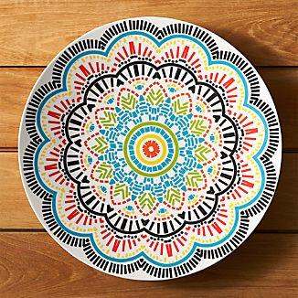Kaleidoscope Melamine Platter