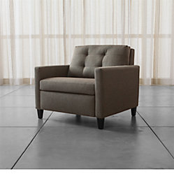 Karnes Twin Sleeper Sofa Chair Crate And Barrel