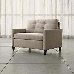 Karnes 71 Quot Queen Sleeper Sofa Meritage Cream Crate And
