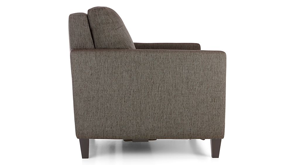 Karnes Twin Sleeper Sofa Vee Life Nickel Crate And Barrel