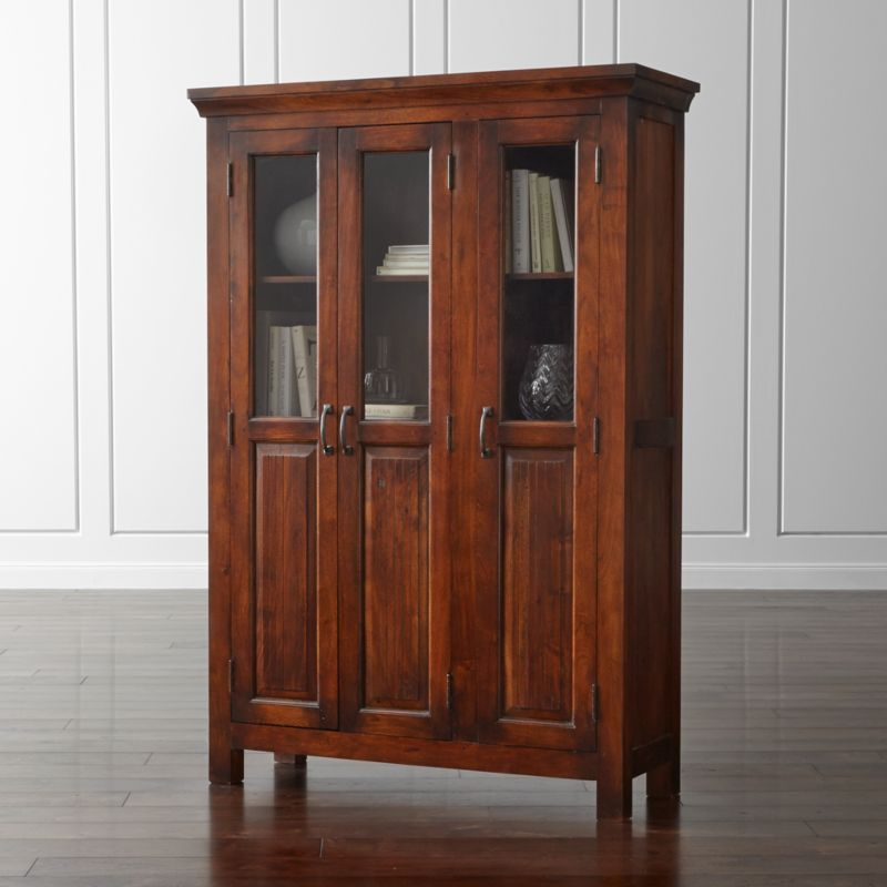 Kavari 3 Door Cabinet Crate And Barrel