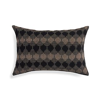 """Kavari Brindle Brown 22""""x15"""" Pillow"""