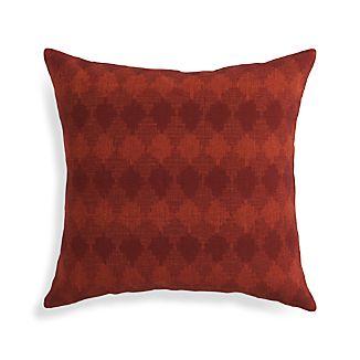 """Kavari Ginger Orange 20"""" Pillow"""