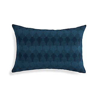 "Kavari Indigo Blue 22""x15"" Pillow"