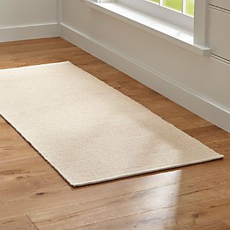 Kavi Natural Wool-Blend 2.5'x6' Rug Runner