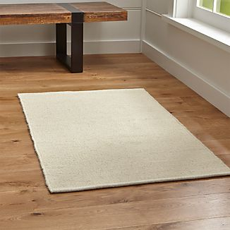 Kavi Natural Wool-Blend Rug