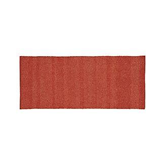 Kavi Rust Wool-Blend 2.5'x6' Rug