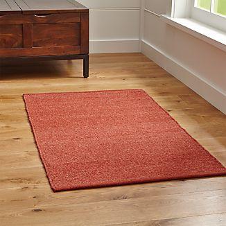 Kavi Rust Wool-Blend Rug
