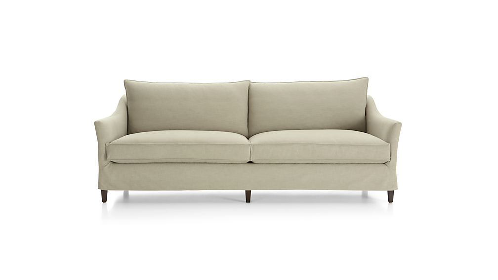 Solid Slipcover Only for Keely 2-Seat Sofa