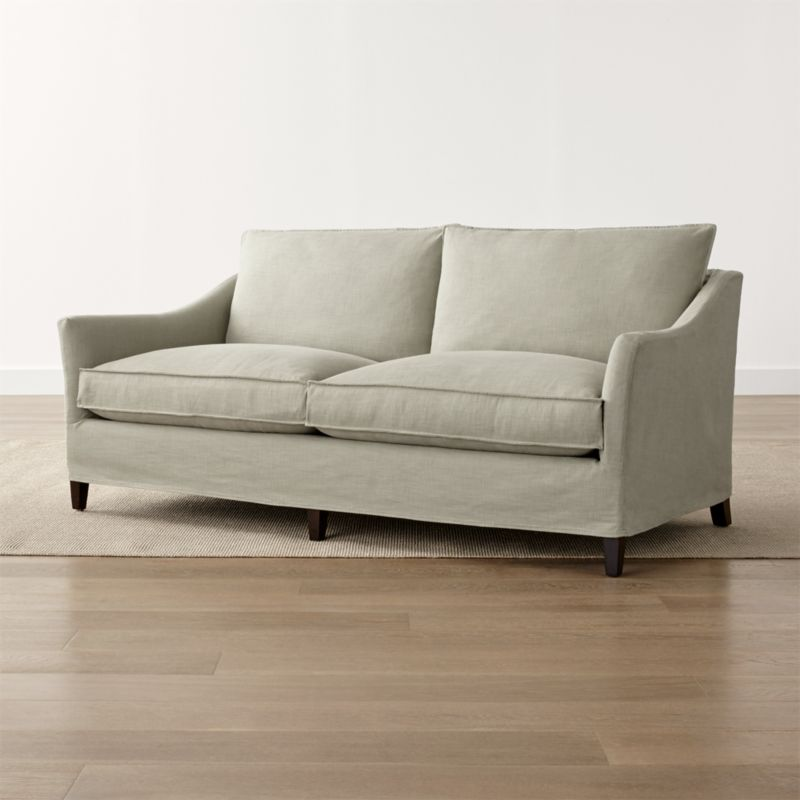 Solid Slipcover Only for Keely 2-Seat Apartment Sofa