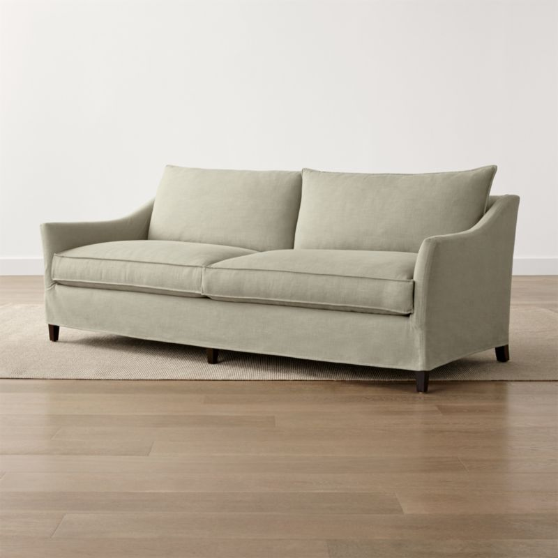 Keely 2-Seat Slipcovered Sofa
