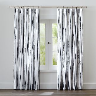 Kendal Blue Striped Curtains