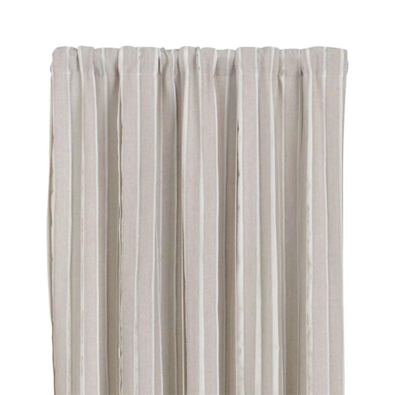 """Kendal Natural 50""""x96"""" Curtain Panel"""