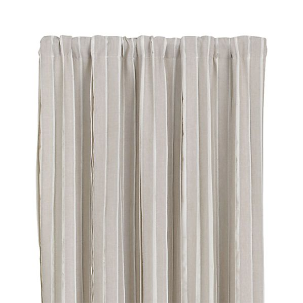 "Kendal Natural 50""x108"" Curtain Panel"