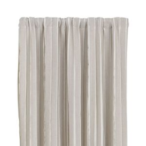 Kendal Natural 50x84 Curtain Panel